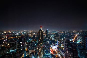 Mahanakhon Skywalk - Bangkok