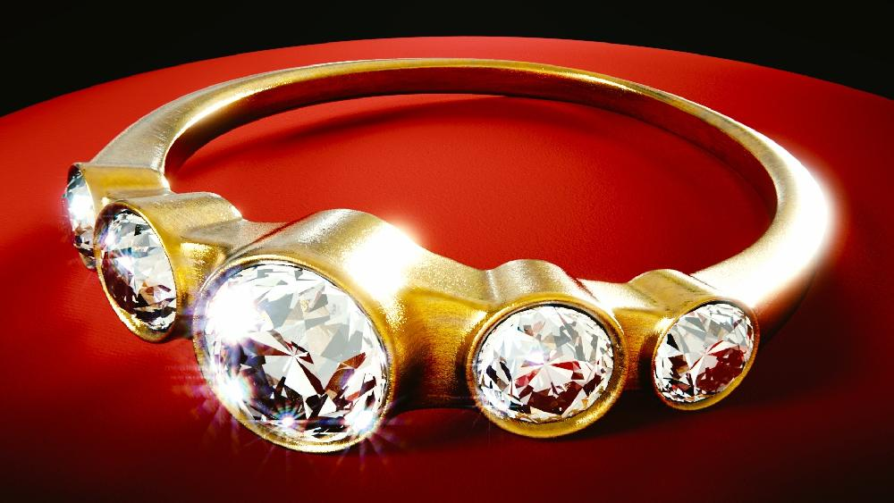 Schmuck, Gold, Steine Thailand Edler Schmuck und billige