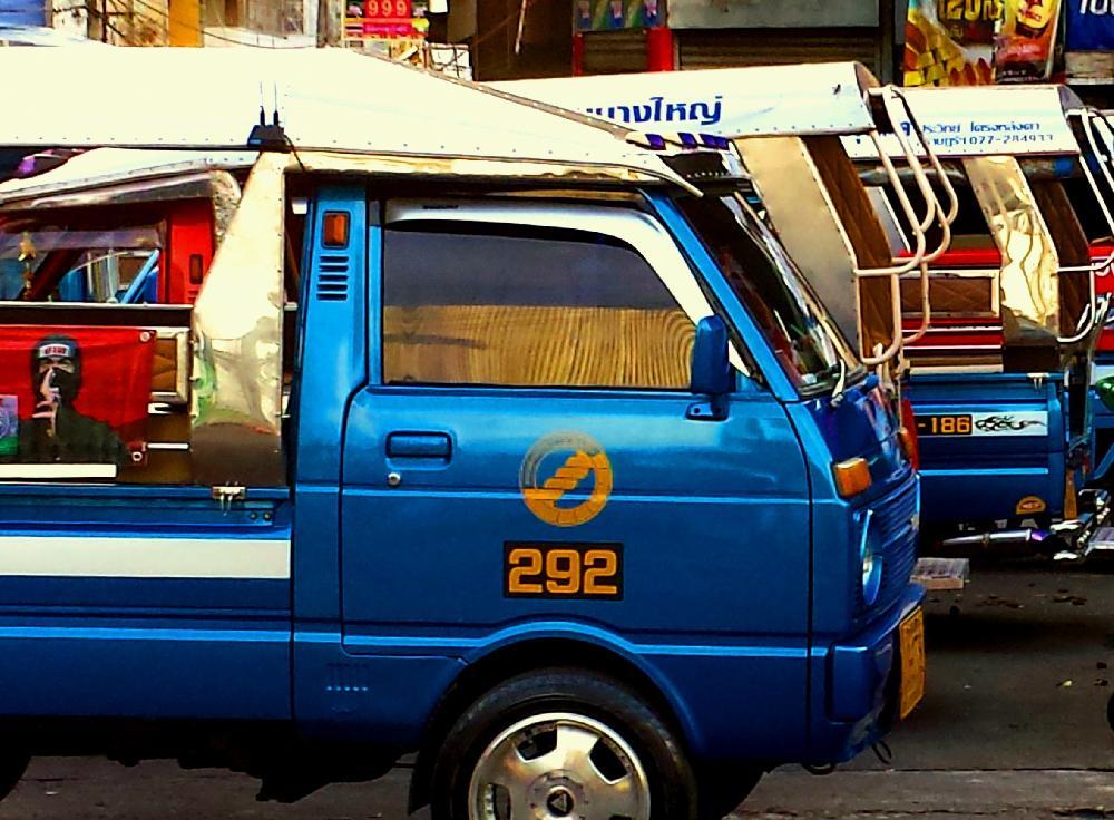 tuktuk thailand tuktuk in den unterschiedlichsten varianten. Black Bedroom Furniture Sets. Home Design Ideas