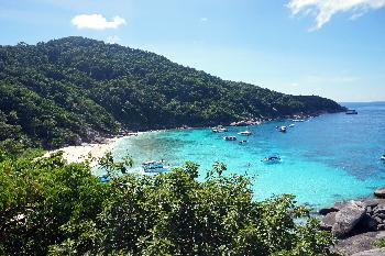 Die Similan Islands sind ein Paradies