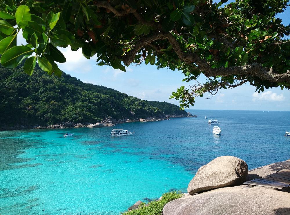 Simlan Islands Khao Lak Tauch Und Badeparadies Similan