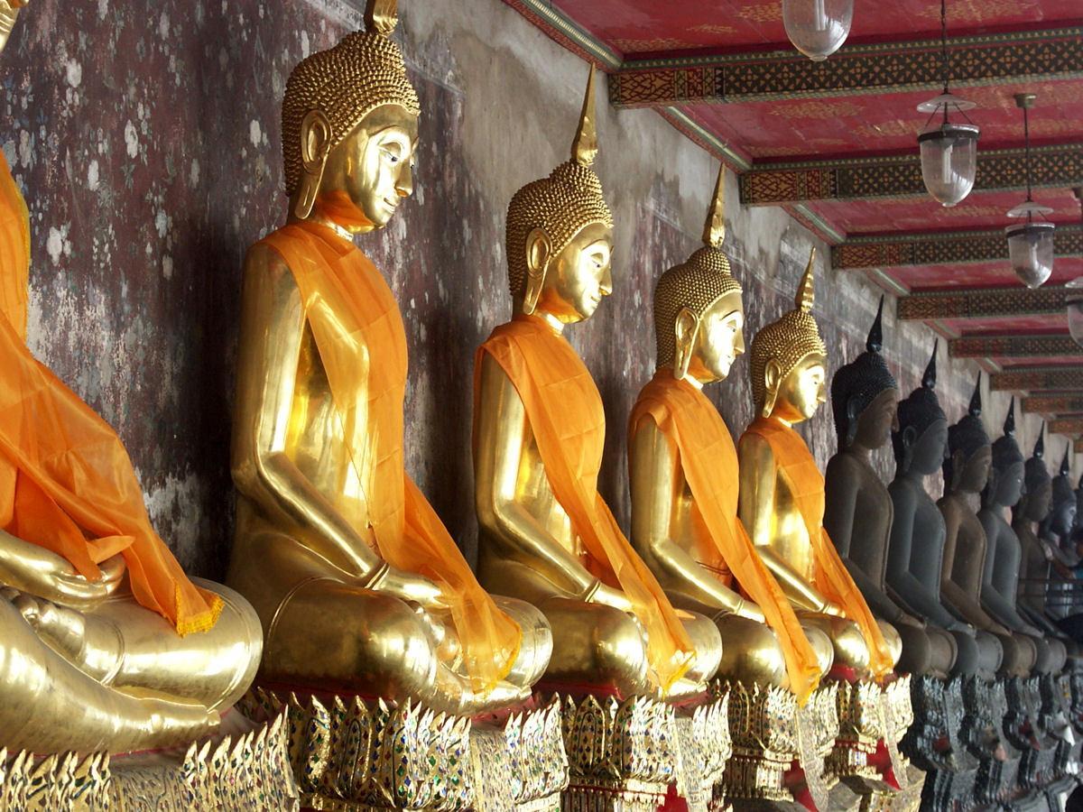 Wat Suthat Bangkok Die Riesenschaukel Des Wat Suthat