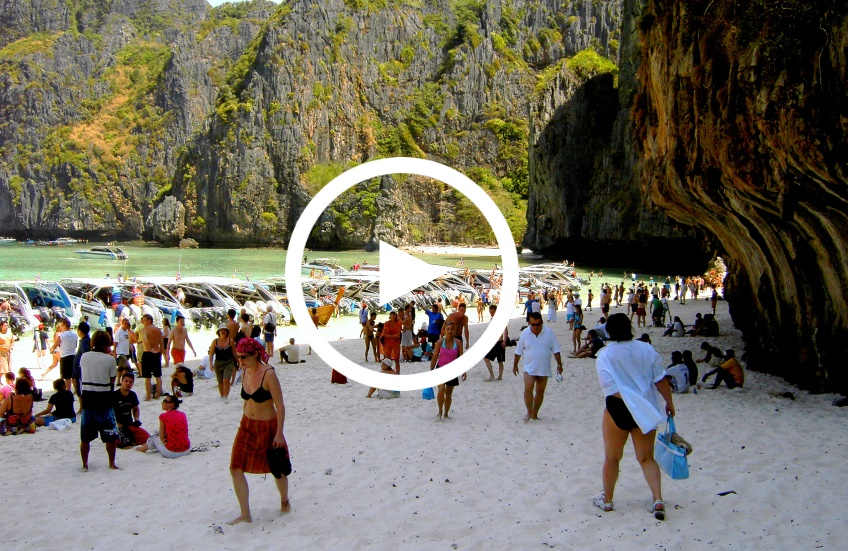 Video Zuviele Touristen in Thailand
