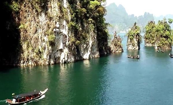 Video Khao Sok Aerial Tour