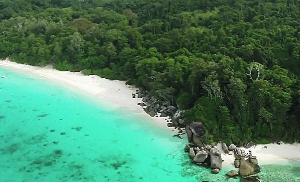 Video Similan Aerial Tour