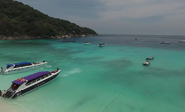 Video Die Similan Islands von oben!