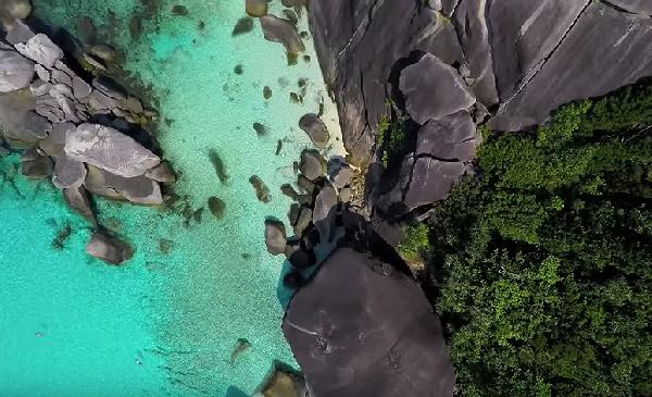Video Donald Duck Bucht auf den Similans