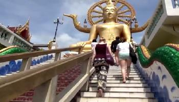 Big Buddha Statue - Koh Samui Video