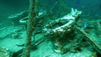 Tauchgang am King Cruiser Wrack - Krabi Video