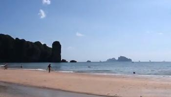 Ao Nang Beach Strandtest - Krabi Video