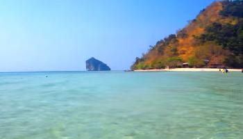 An der Landzunge von Chicken Island - Krabi Video