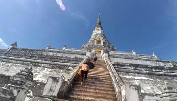 Wat Phu Khao Thong - Ayutthaya Video