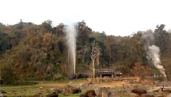 Fang Hot Springs - Chiang Mai Video