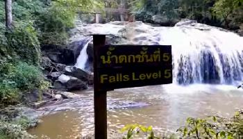 Mae Sa Waterfall - Chiang Mai Video