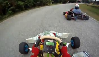 Powerkarts auf dem Chaing Mai Speedway - Chiang Mai Video