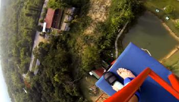 Bungee Jumping in Chiang Mai  - Chiang Mai Video