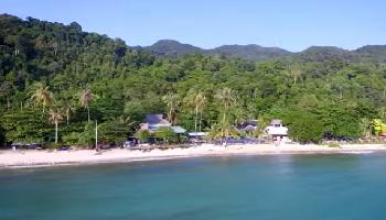 Lonely Beach von oben - Koh Chang Video