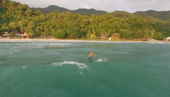 Surf Session im Abendrot auf Koh Chang - Koh Chang Video