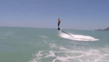 Flyboard am Chaweng Beach - Koh Samui Video