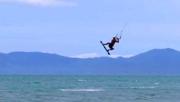 Kiteboarding am Maenam Beach - Koh Samui Video
