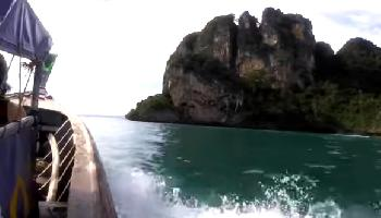 Der Viewpoint und die Lagune am Railay East - Krabi Video