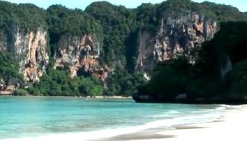 Krabi - Railay West Beach - Krabi Video