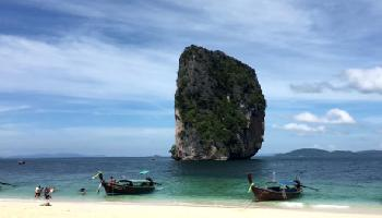 Am Strand von Koh Poda (Bodha) - Krabi Video