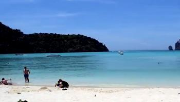 Strand Lo Dalam Beach Koh PhiPhi - Krabi Video