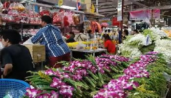 Der Blumenmarkt - Bangkok Video