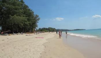 Das Strandleben am Log Beach Koh Lanta - Krabi Video