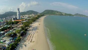 Der Patong Beach in der Nebensaison - Phuket Video