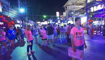 BANGLA ROAD WALKING STREET - Phuket Video