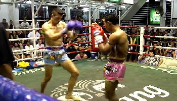 Muay Thai - David gegen Goliath - Phuket Video