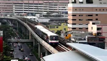 Bangkok BTS Skytrain - Bangkok Video