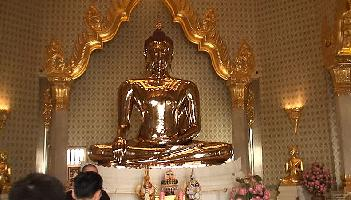 Buddha aus 84% Gold - Bangkok Video