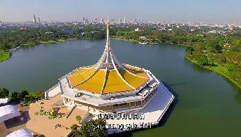 Start Video Suan Luang (King Rama IX Park) von oben Sehenwertes + Kultur
