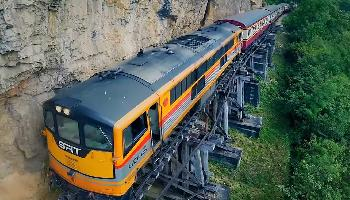 Death Railway Kanchanaburi - Bangkok Video