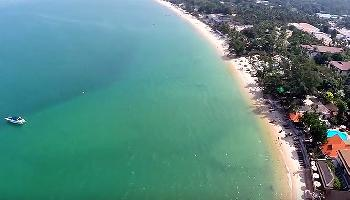 Start Video Bo Phut oder Bophut Beach Samui 1 Baden + Strand