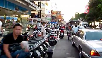 Pattaya Beach Road - Alltagsverkehr... - Pattaya Video