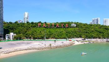 Pattaya Thailand June 2017 by Drone 4K - Pattaya Video