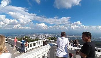 Wat Doi Suthep im 360 Grad Video - Chiang Mai Video