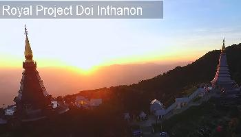 Royal Projekt Doi Inthanaon - Chiang Mai Video