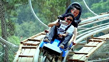 Jungle Coaster Doi Suthep - Chiang Mai Video