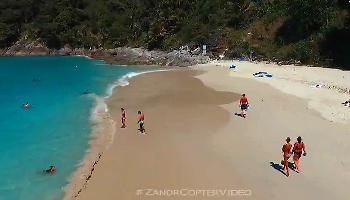 Freedom Beach Phuket Aerial - Phuket Video