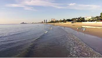Morgens am Hua Hin Beach - Hua Hin / Cha Am Video