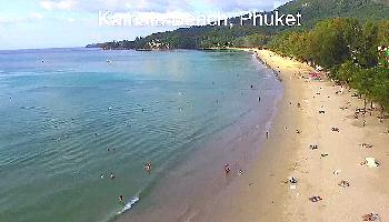 Flug über den Kamala Beach - Phuket Video