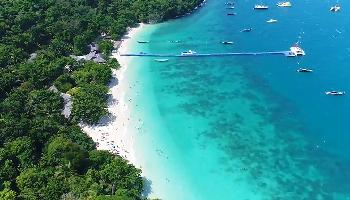 Salsa auf Coral Island - Phuket Video
