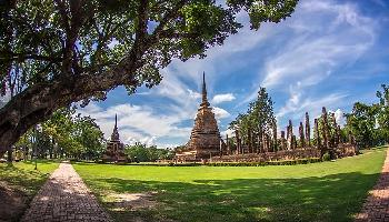 Start Video Sukhothai Historical Park in Zeitraffer Sehenwertes + Kultur