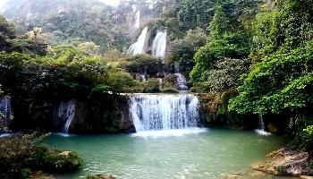 Thi Lo Su Waterfall, Thailand - Nakhon Sawan Video