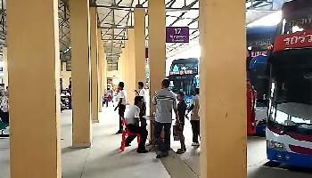 Der Busbahnhof in Krabi - Krabi Video